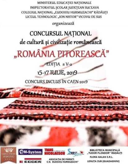 Romania pitoreasca afis